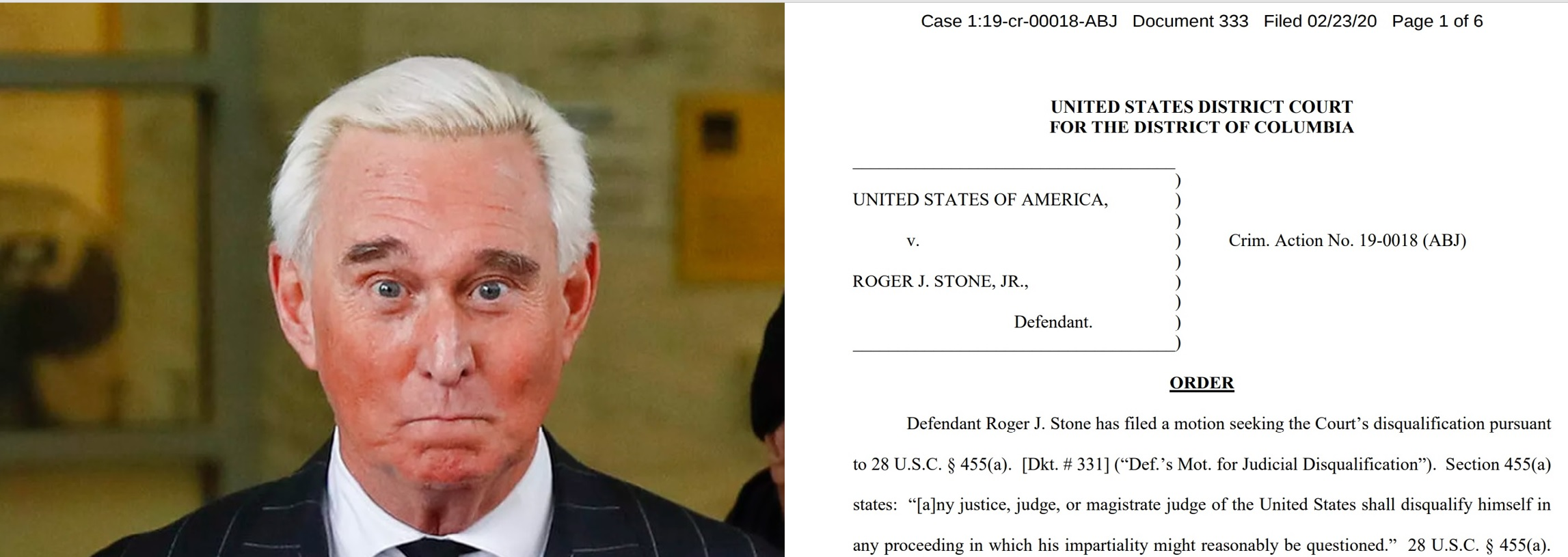 The Roger Stone Case The Shenanigans Continue Regtech Consulting Llc